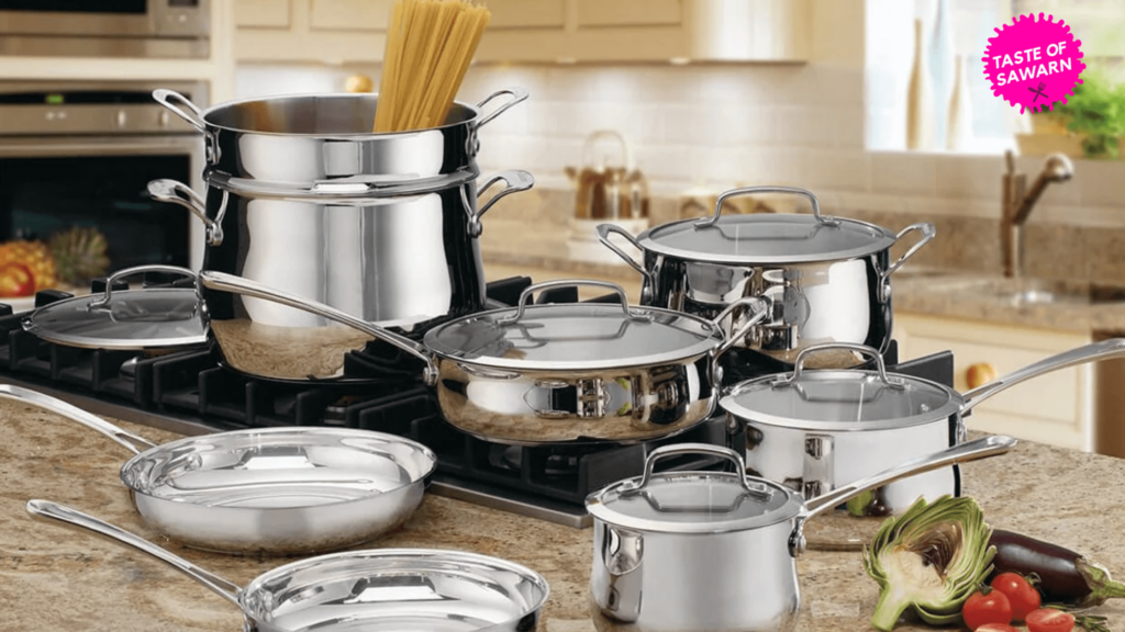 stainless steel cookware TOS
